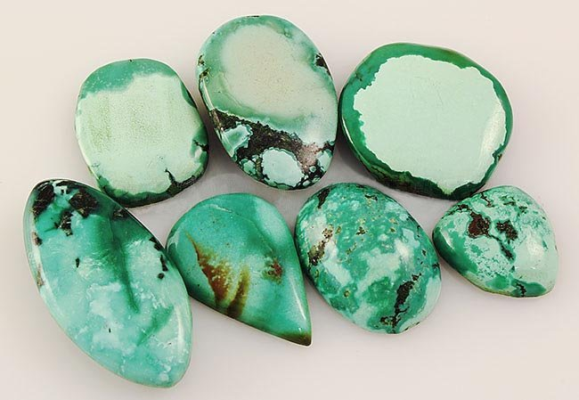 Natural Turquoise 186.44ctw Loose Small Gemstone Lot of
