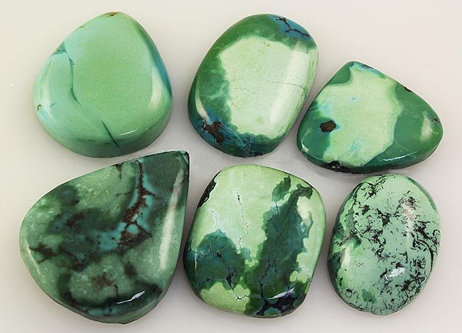 Natural Turquoise 184.28ctw Loose Small Gemstone Lot of