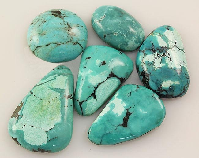 Natural Turquoise 154.10ctw Loose Small Gemstone Lot of