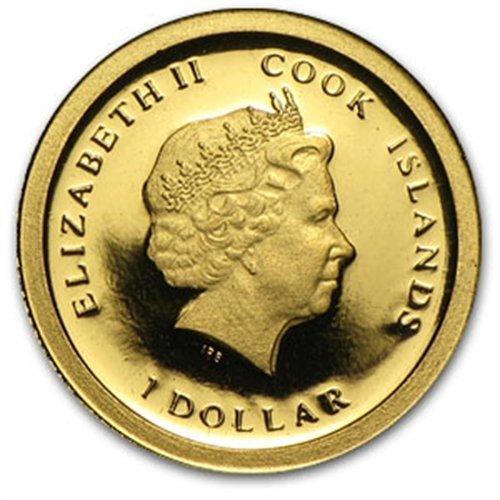 Cook Islands 2013 $1 Resignation of Pope Benedict XVI