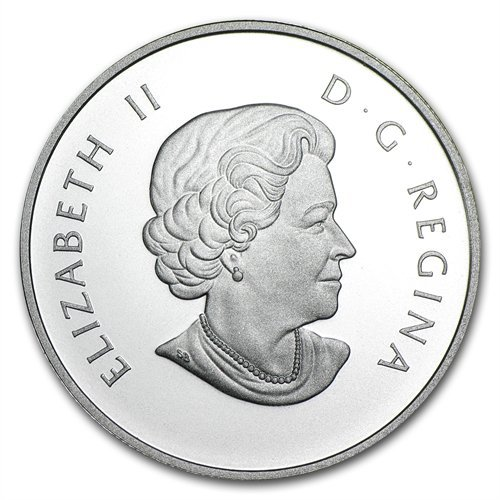 2013 1/2 oz Silver Canadian $10 Inukshuk (W/Box & C