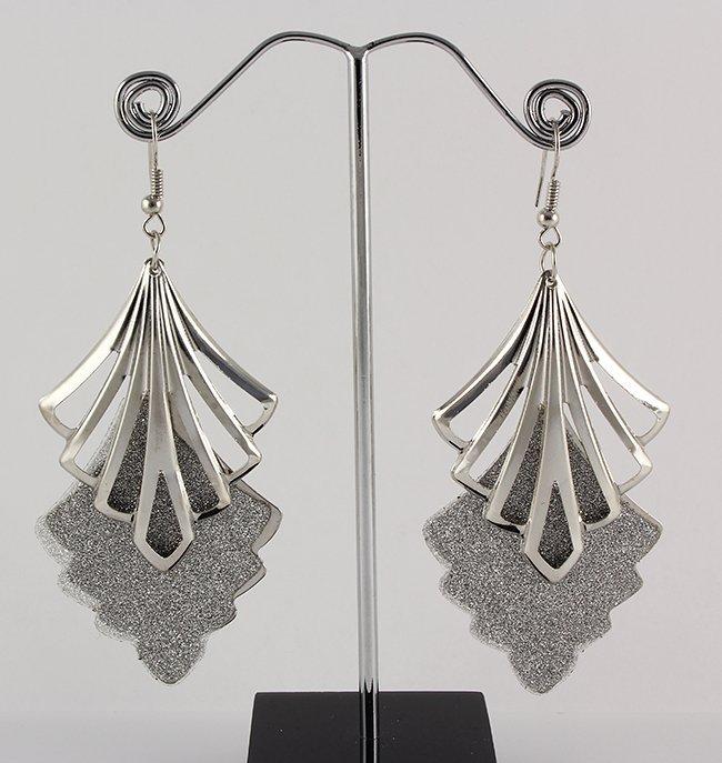 Fashion Jewelry Glitter Unique Dangle Hook Earring