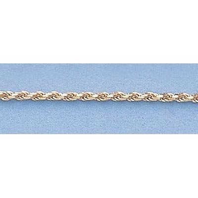 """Pure Gold 16"""" 14kt Italian Gold-Yellow or White 1.0mm,"""
