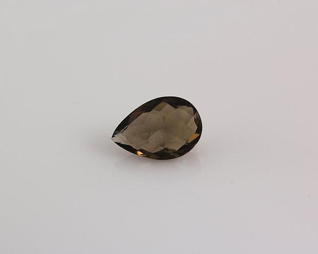 Smoky Topaz Loose Gemstone Pear Cut 20.95 ct