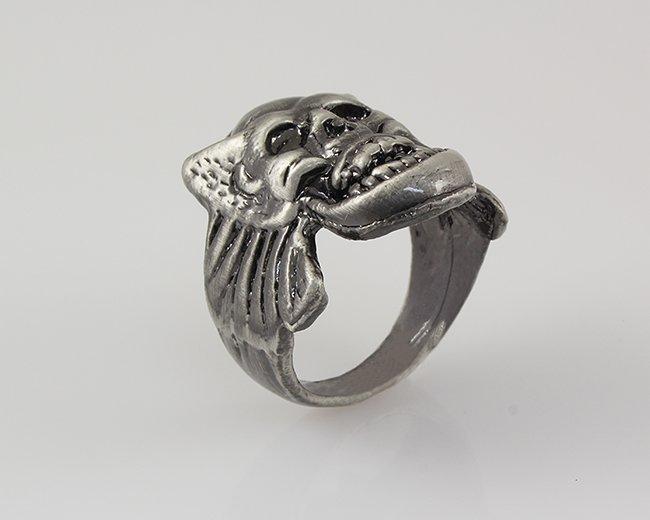 Fashion Mens Jewelry Skull Big Ring
