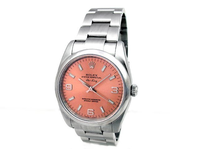 Gents Rolex Stainless Steel Oyster Perpetual Airking Wa