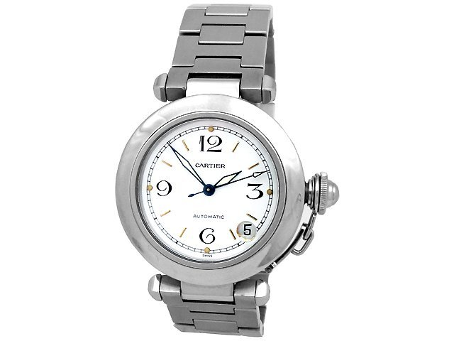 35mm Midsize Cartier Stainless Steel Pasha Watch