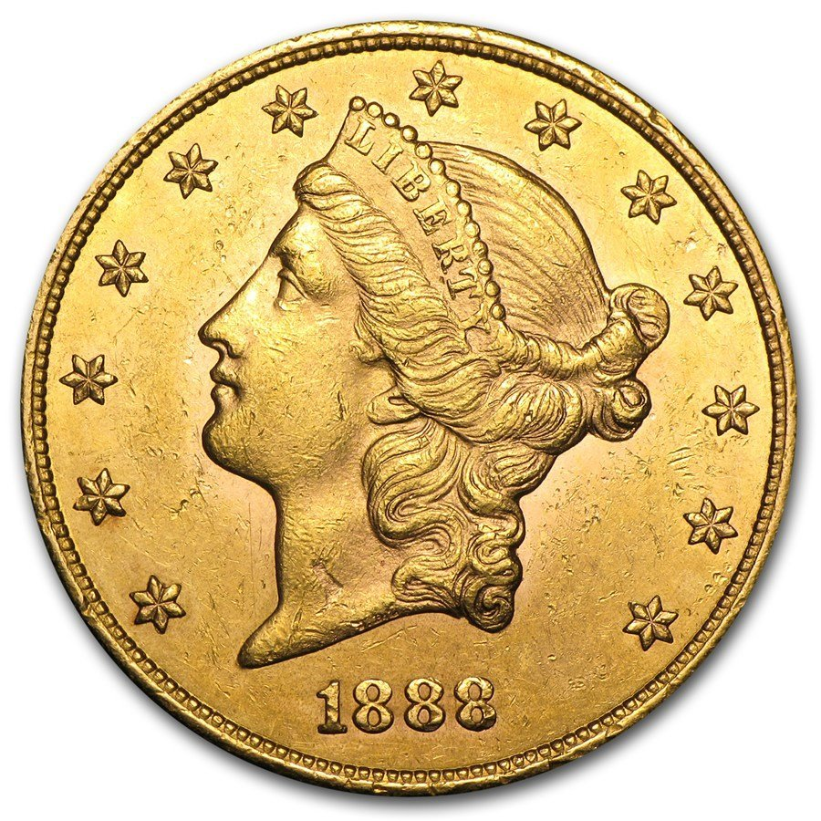 $20 Liberty Gold Double Eagle AU (Random Years)