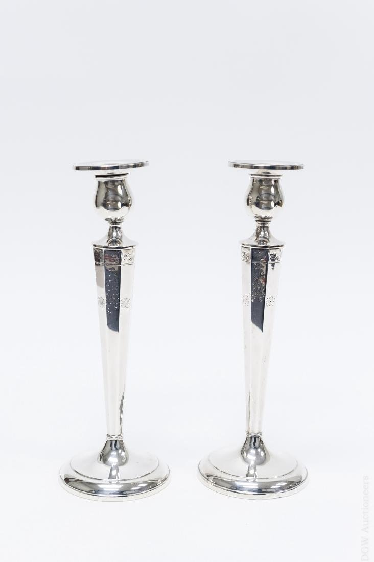 Pair of La Pierre Sterling Silver Weighted