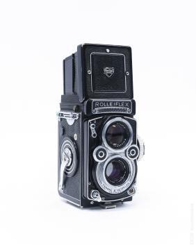 Rolleiflex 3.5F Model 1 TLR Camera.