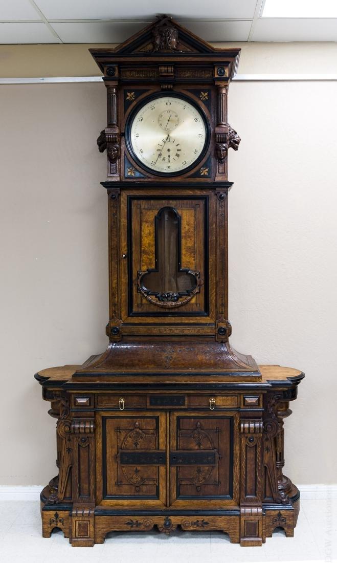 George Jones Astronomical Regulator Clock in Herter