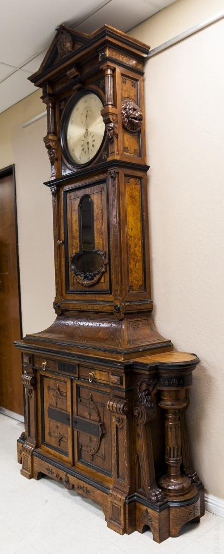 George Jones Astronomical Regulator Clock in Herter - 6