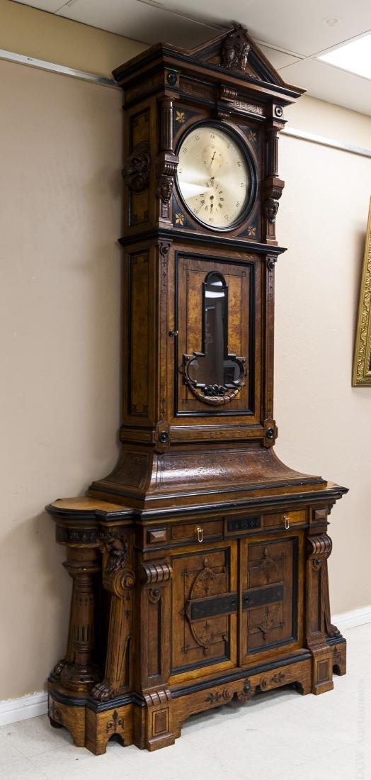 George Jones Astronomical Regulator Clock in Herter - 7