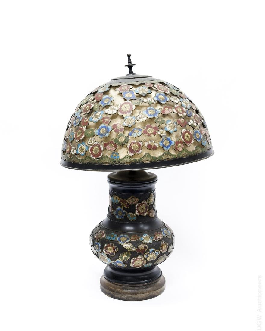 Champleve Table Lamp.