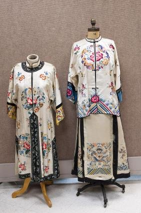 (3) Chinese Silk Embroidered Garments.