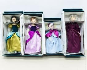 (4) Limited Edition Cinderella Character Dolls.