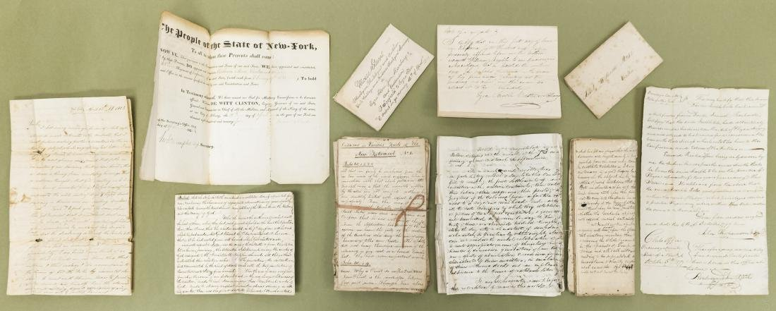 Collection of Early 19th C. Documents and Commentary.