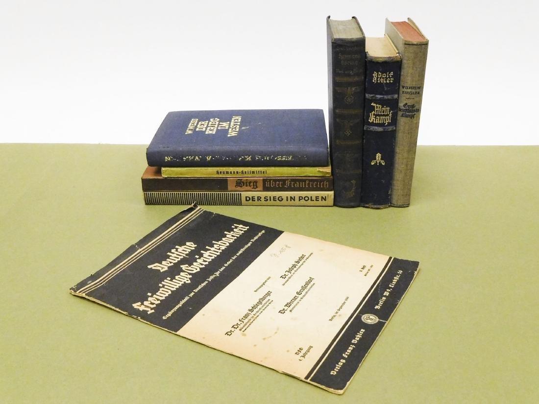 (8) World War II Era German Books.