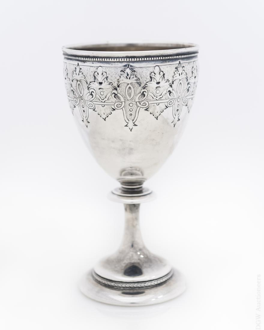 Gorham Sterling Silver Goblet.