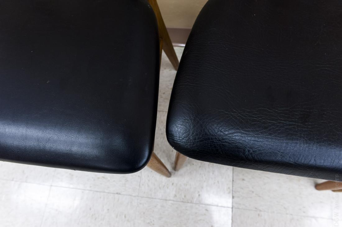 Teak Draw Leaf Table w/ 12 Danish Teak Chairs. - 6