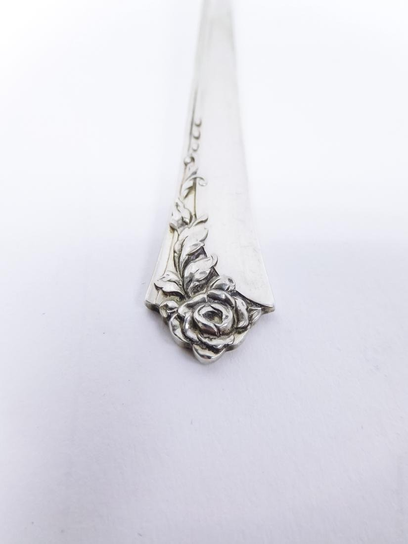 "Heirloom Sterling Silver Flatware, ""Damask Rose"". - 3"