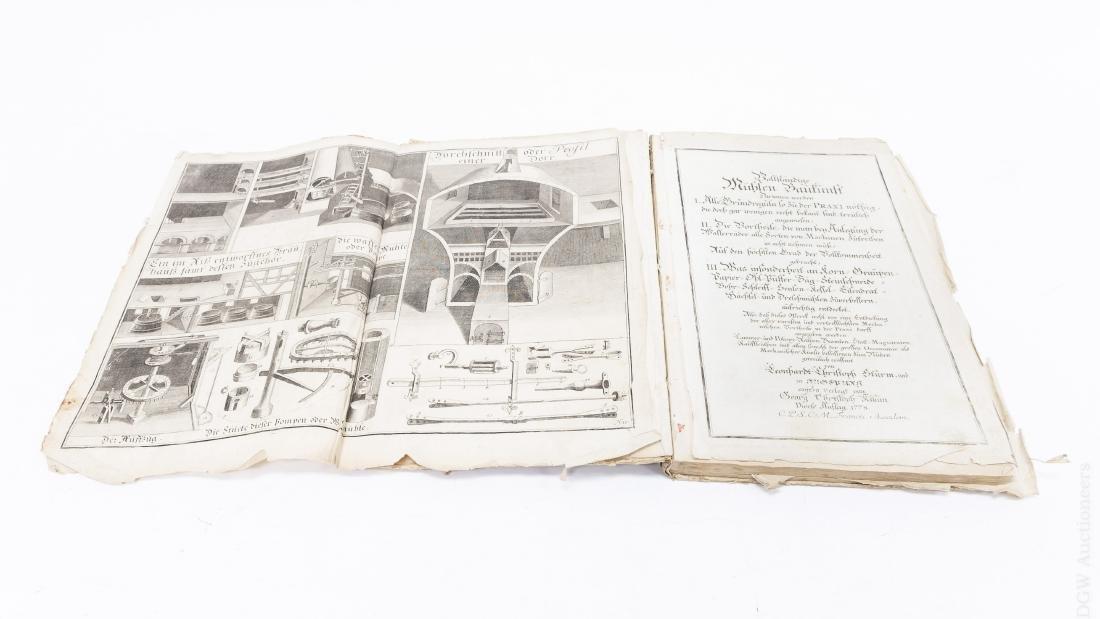 18th C. German Mill Builder Trade Manual.