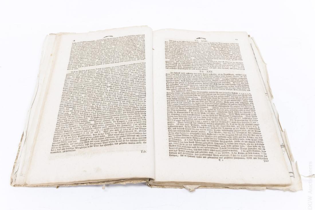 18th C. German Mill Builder Trade Manual. - 3