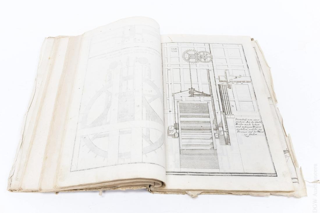 18th C. German Mill Builder Trade Manual. - 4