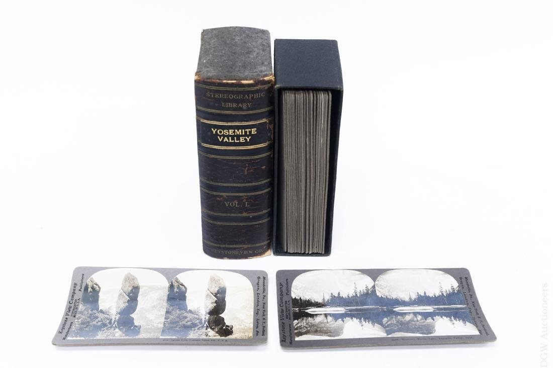 (23) Yosemite Valley Stereo Cards.
