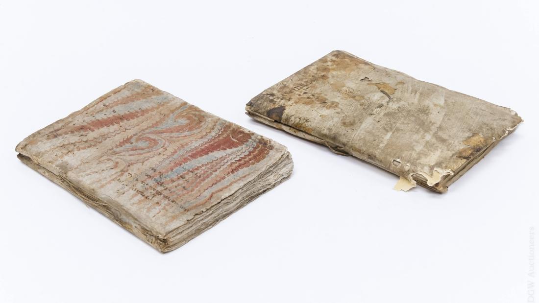 (2) Early 17th Century Italian Books. - 2