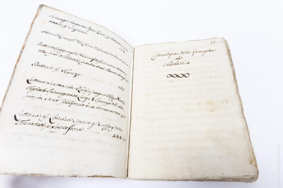 (2) Early 17th Century Italian Books. - 4