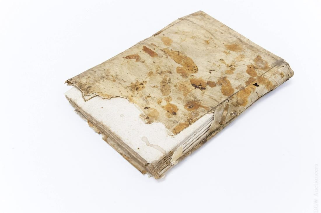 (2) Early 17th Century Italian Books. - 7