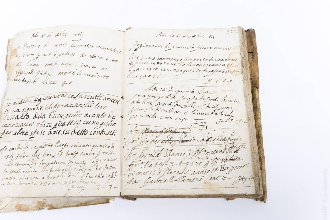 (2) Early 17th Century Italian Books. - 8