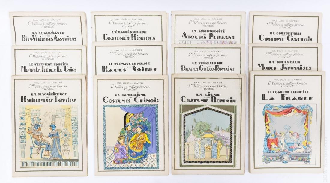 (16) Paul Louis de Giafferi Costume Books.