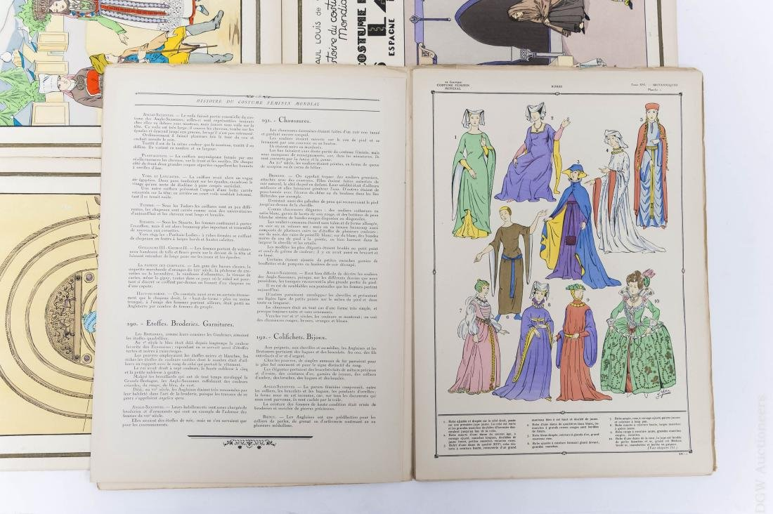 (16) Paul Louis de Giafferi Costume Books. - 3