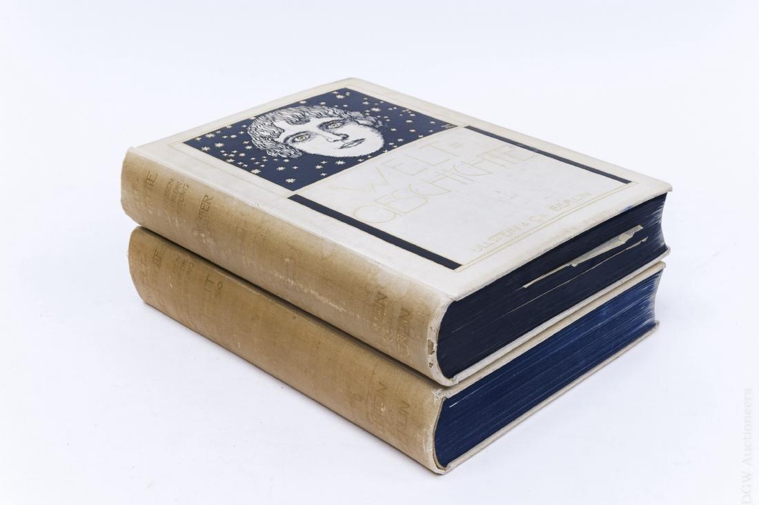 (2) German Volumes, Ullsteins Welt-Geschichte.