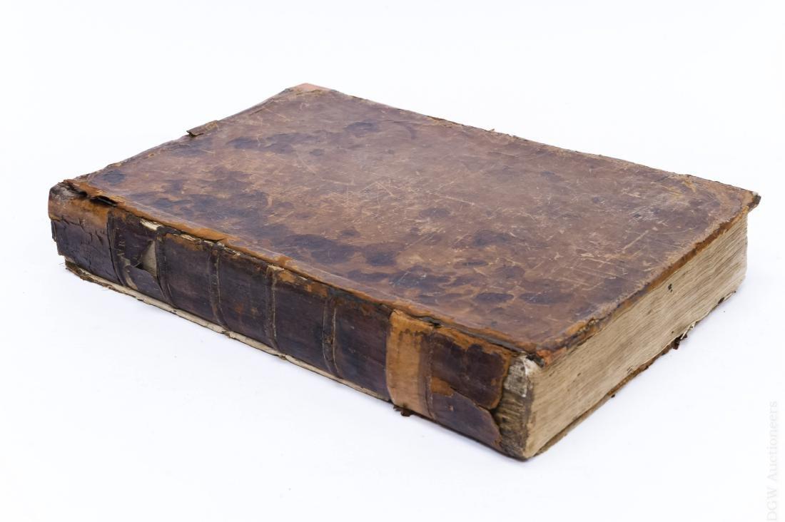 18th C. Vol., Natural History, Display of Animal