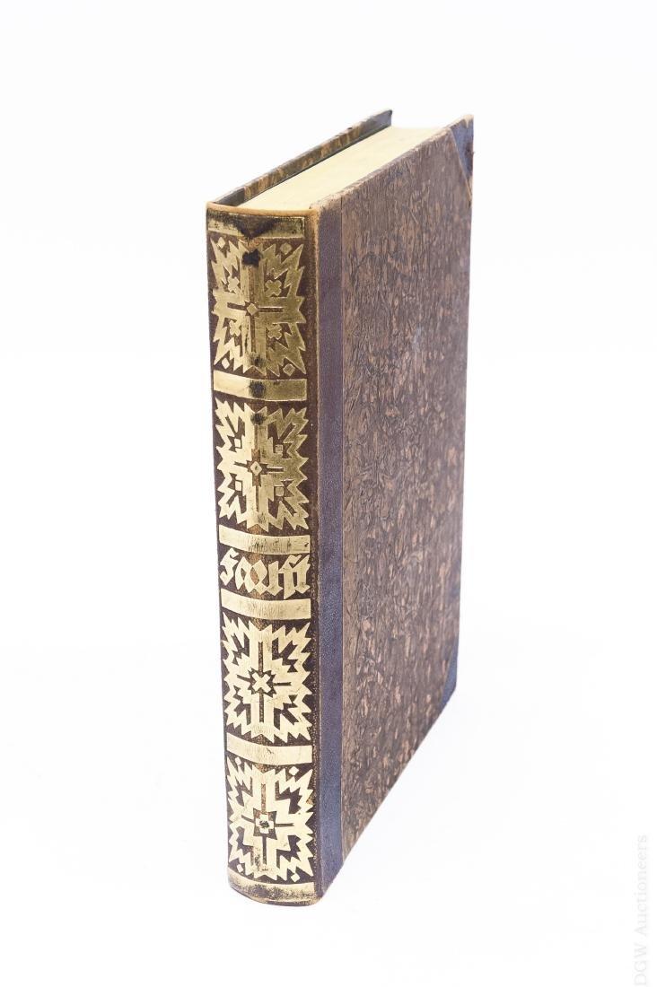 One Volume Goethe's Faust, German, 1920.