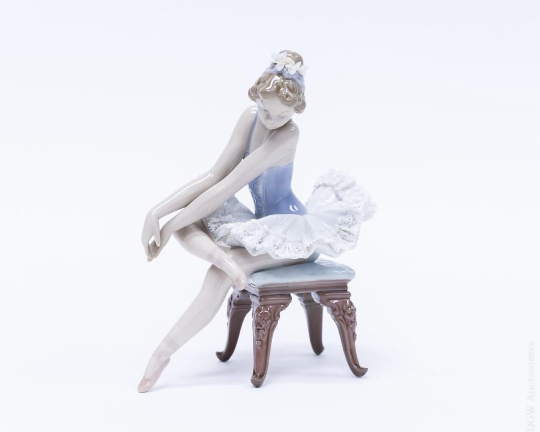 Lladro Porcelain Figure, Opening Night.