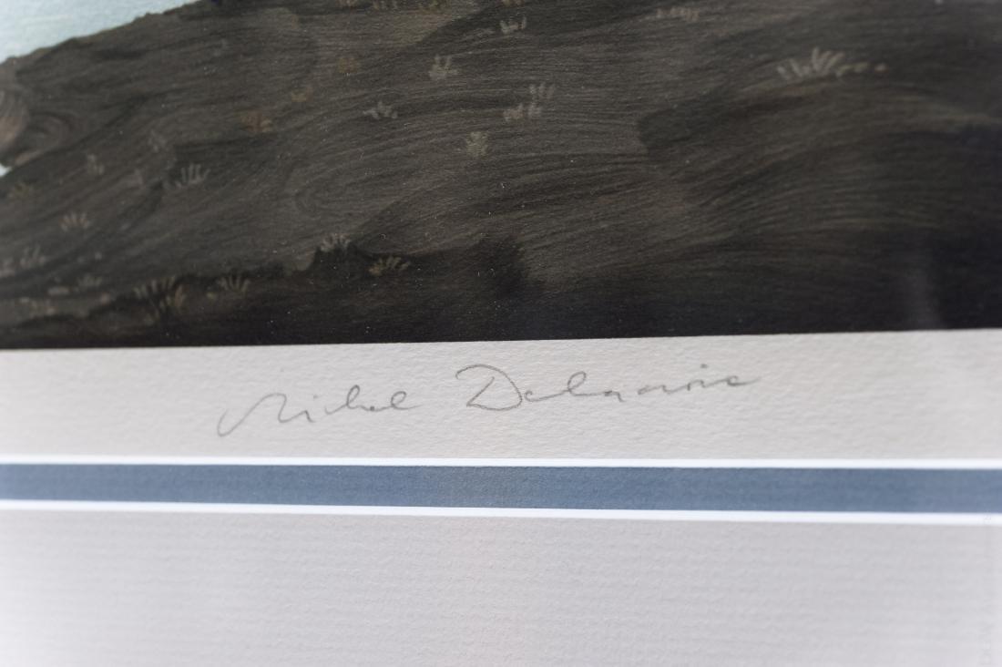 Michel Delacroix Lithograph. - 2