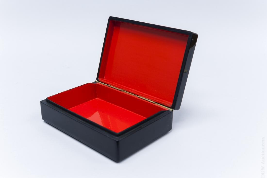 Gudkova Fedoskino Russian Lacquer Box. - 3