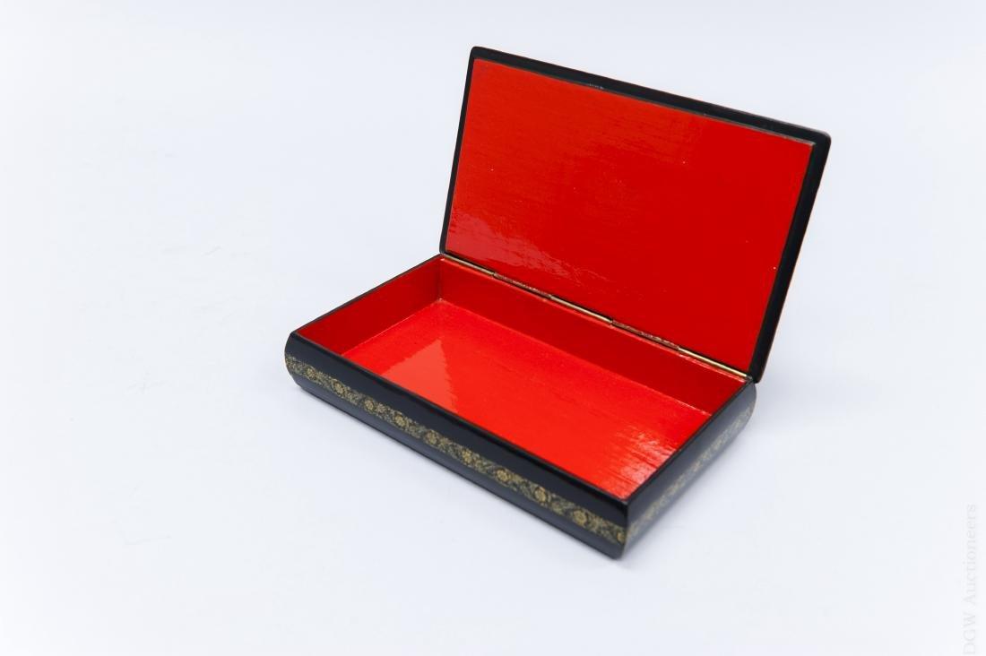 Sivyakova Palekh Russian Lacquer Box. - 2