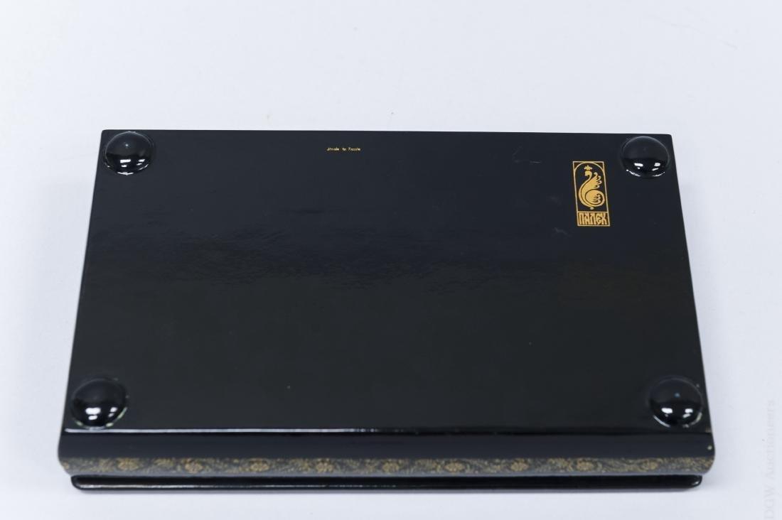 Sivyakova Palekh Russian Lacquer Box. - 4