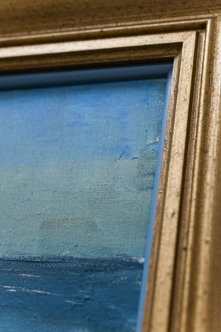 Peter Hayward Oil on Canvas, Seascape. - 3