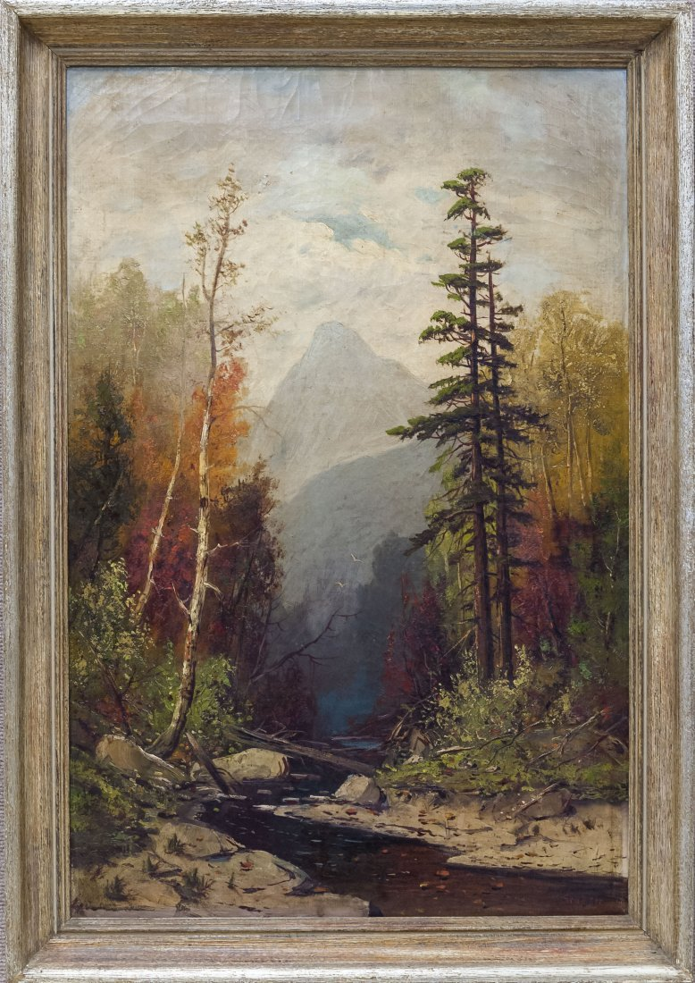 Frederick Schafer Oil on Canvas.