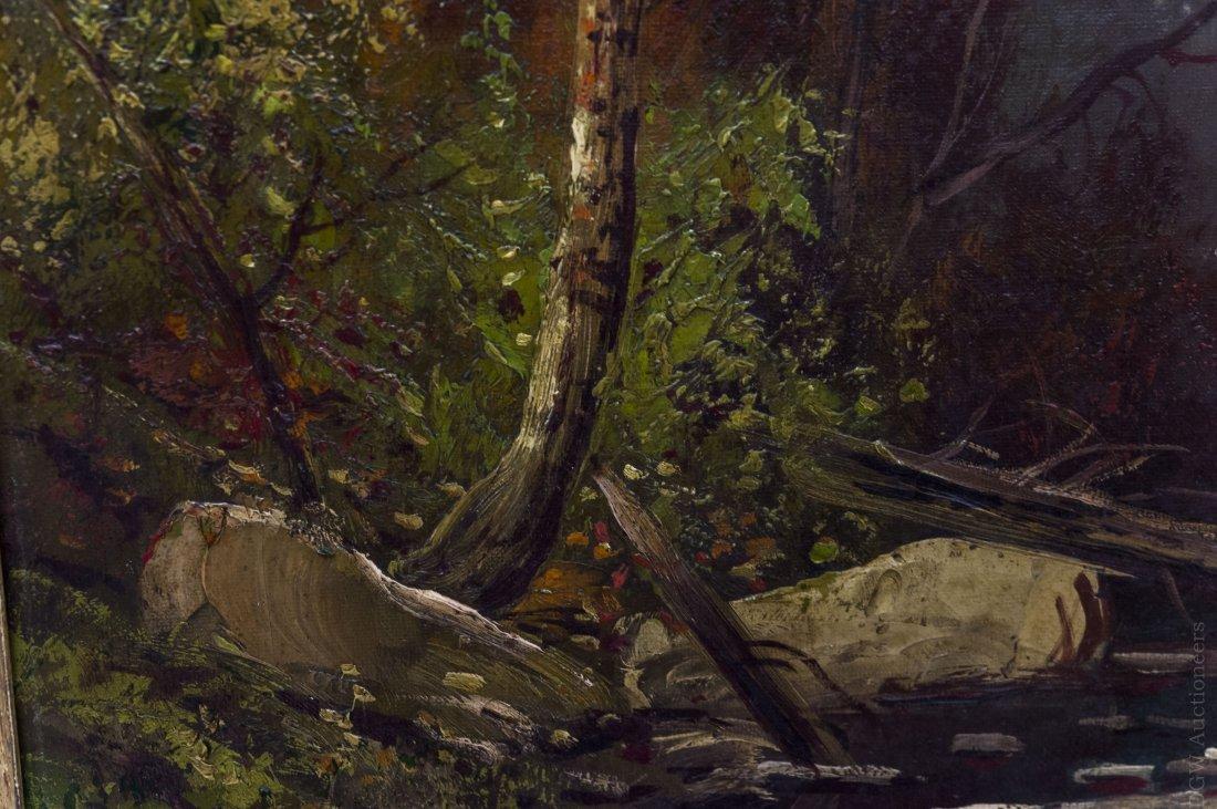 Frederick Schafer Oil on Canvas. - 5