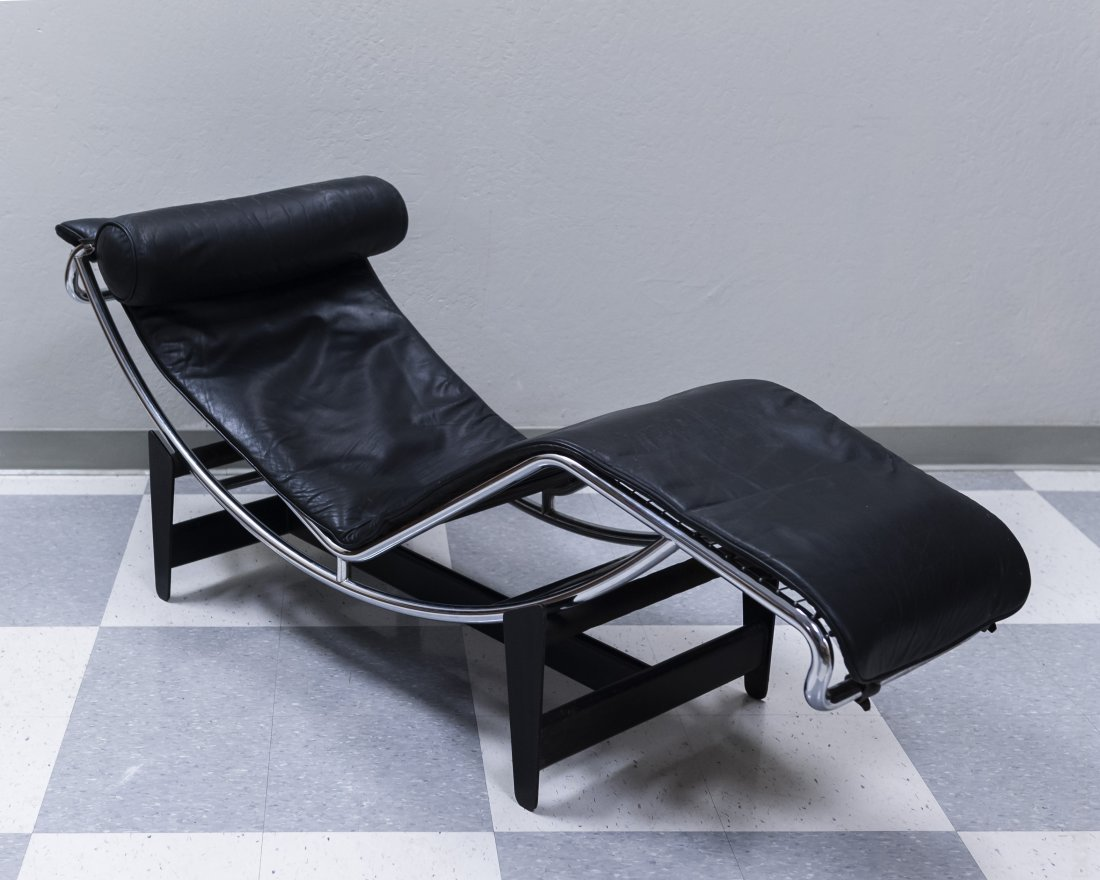 Le Corbusier LC4 Chaise Lounge by Cassina.