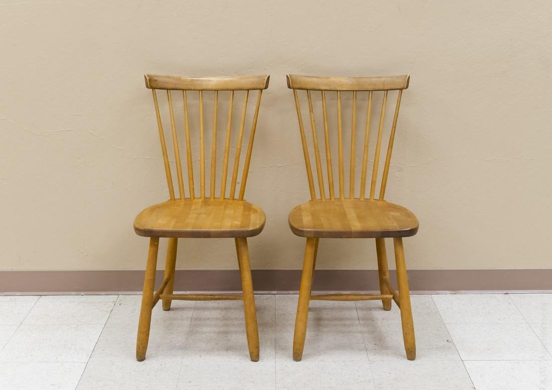 Pair of Stolab Carl Malmsten Side Chairs.