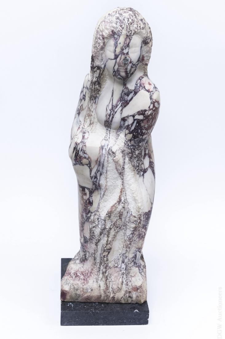 Lorrie Goulet Marble Sculpture.