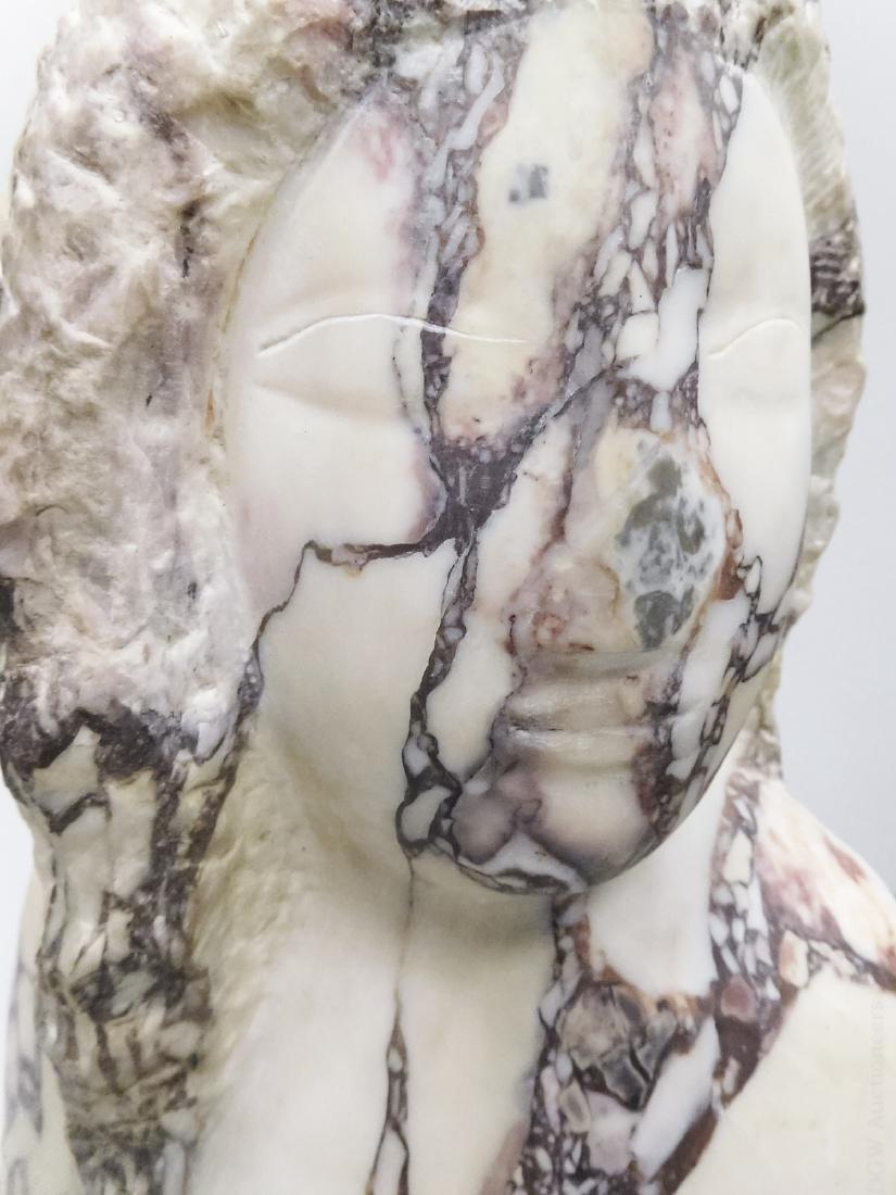 Lorrie Goulet Marble Sculpture. - 4